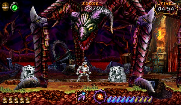Ultimate Ghosts 'n Goblins Screen