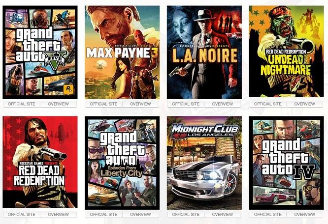 Rockstar Titles
