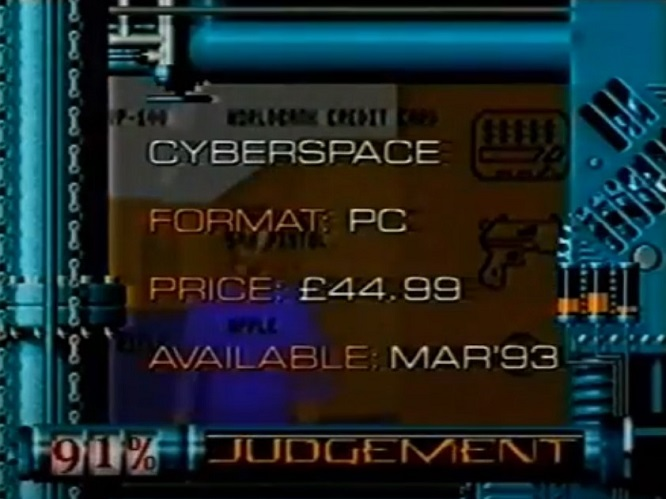 CyberSpace review
