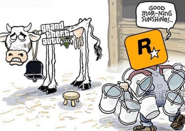 GTA V MILK
