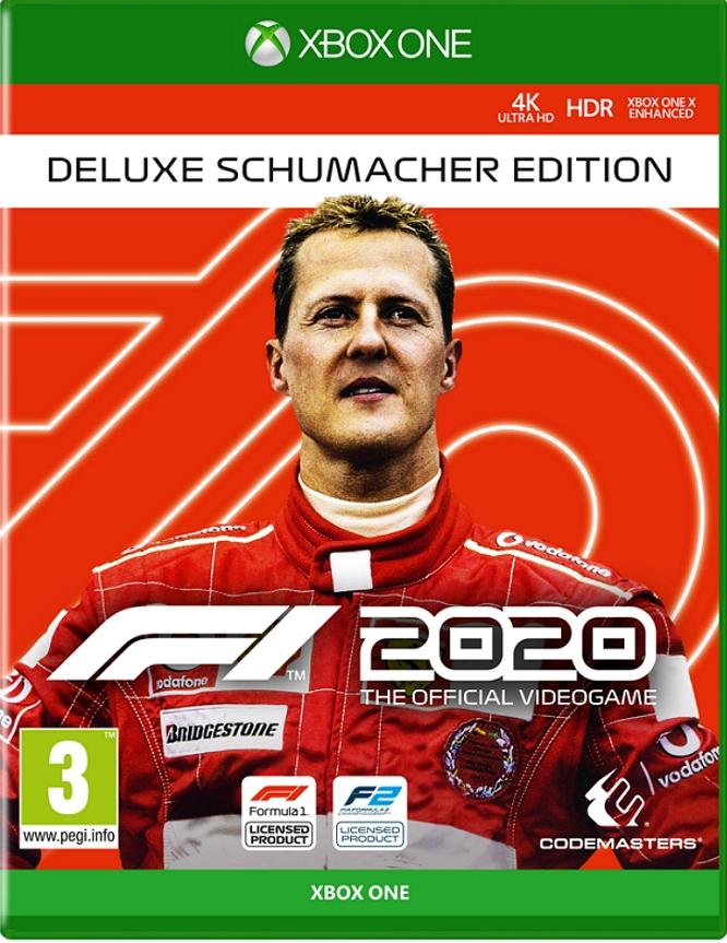 F1 2020 BOX COVER