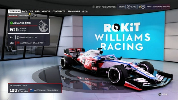 F1 2020 CAR