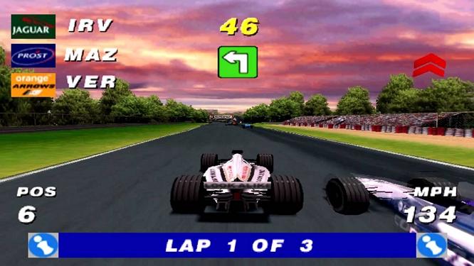 Formula One Arcade