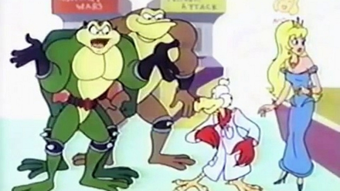 BATTLETOADS CARTOON