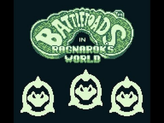 BATTLETOADS GAME BOY