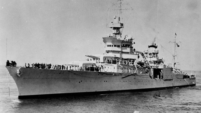 USS INDIANAPOLIS 2