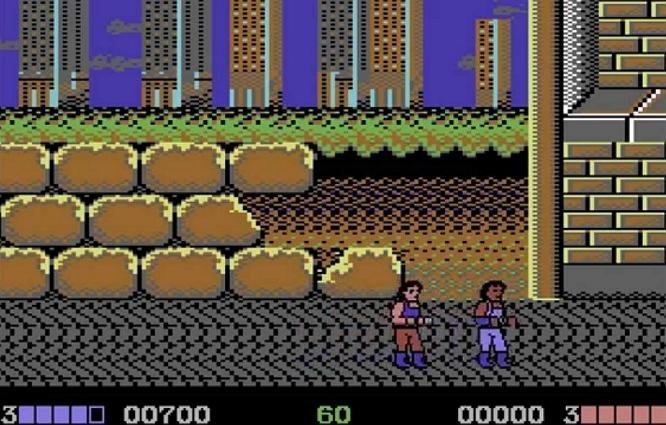 DOUBLE DRAGON C64