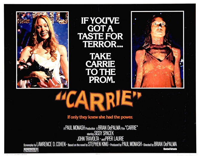 CARRIE 76 POSTER
