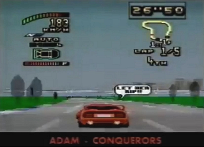 TOP GEAR 2 SNES