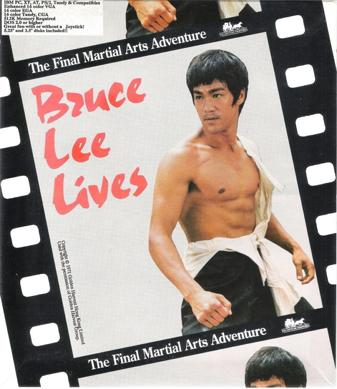 BRUCE LEE LIVES GAME