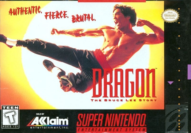 DRAGON BRUCE LEE GAME