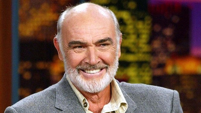 SEAN CONNERY SMILE