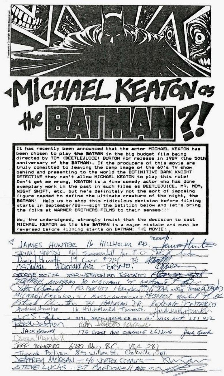 BATMAN PETITION