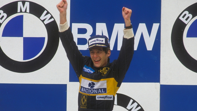 SENNA FIRST WIN