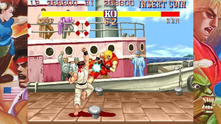CAPCOM ARCADE STREET FIGHTER I