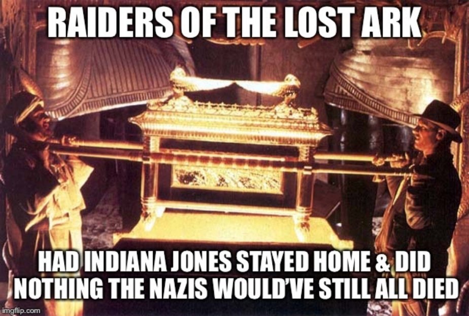 Raiders At 40: Indiana Jones And The Raiders Of The Lost PlotHole