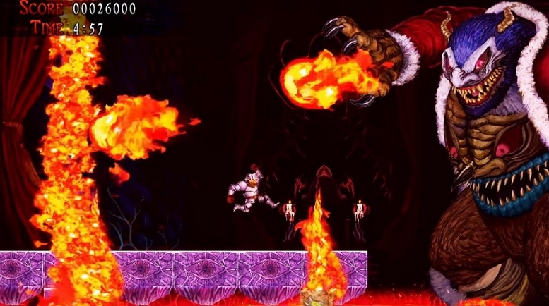 GHOSTS N GOBLINS RESSURECTION BOSS FIGHT 3