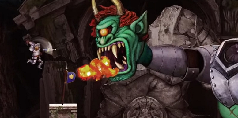 GHOSTS N GOBLINS RESSURECTION BOSS FIGHT