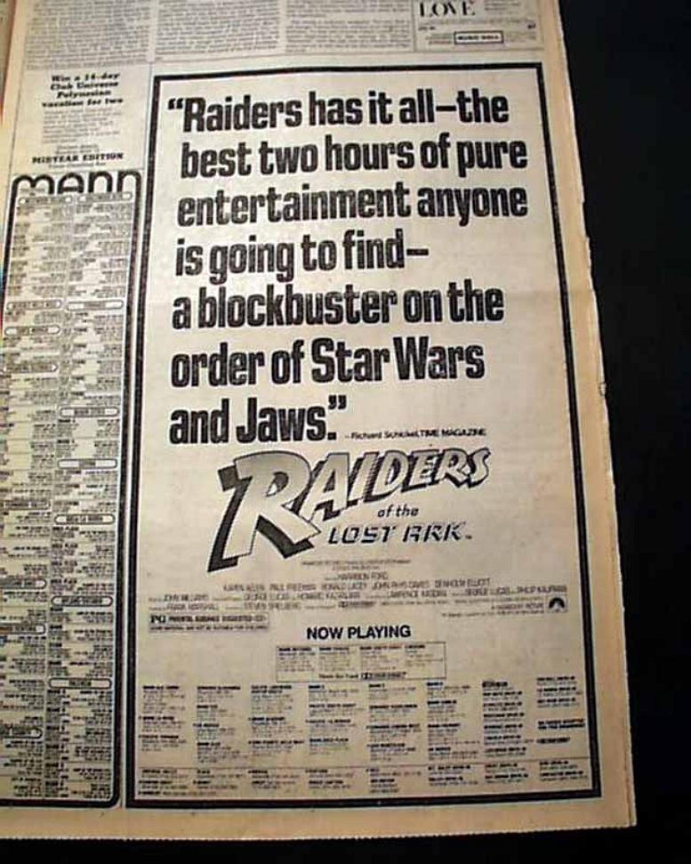 RAIDERS PAPER