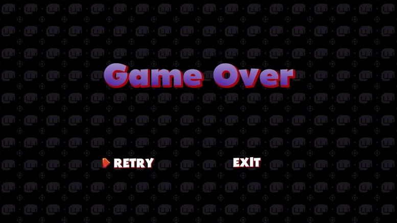 ALEX KIDD DX GAME OVER