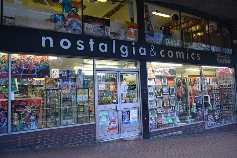 NOSTALIGA AND COMICS