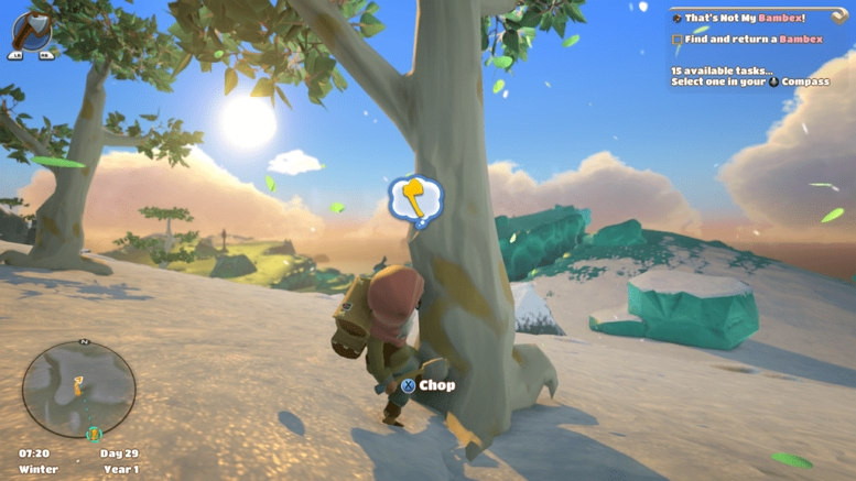 YONDER TREE CUT