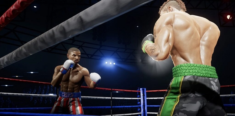 BIG RUMBLE BOXING ADONIS FIGHT
