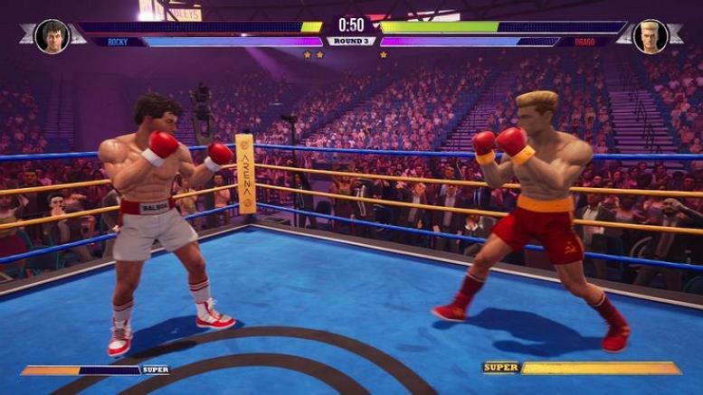 BIG RUMBLE BOXING ROCKY VS IVAN