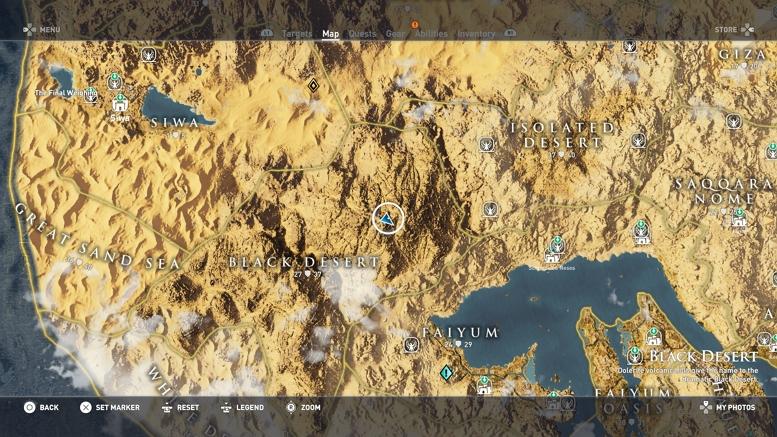 ORIGINS MAP