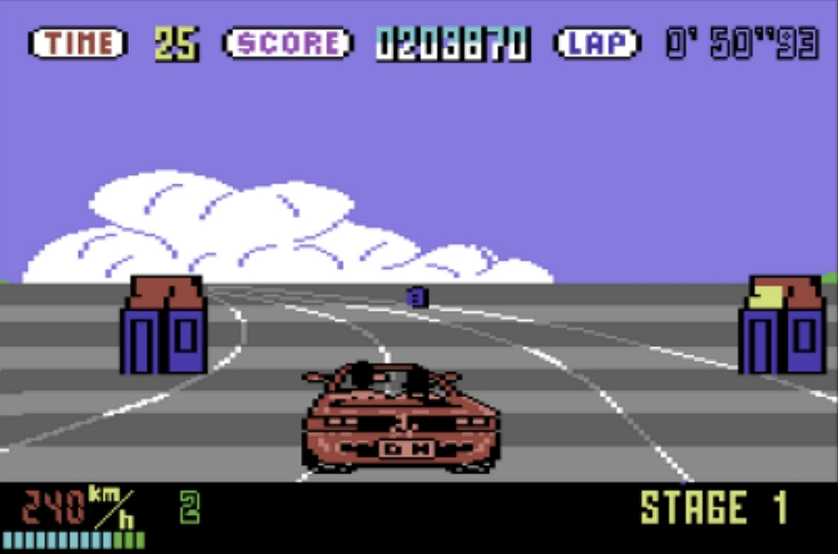 OutRun, The Teenager And The Commodore 64Port