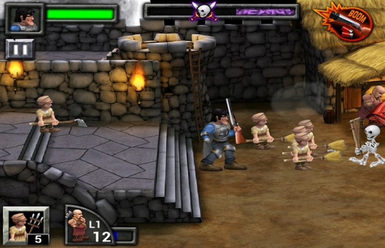ARMY OF DARKNESS DEFENCE SCREEN