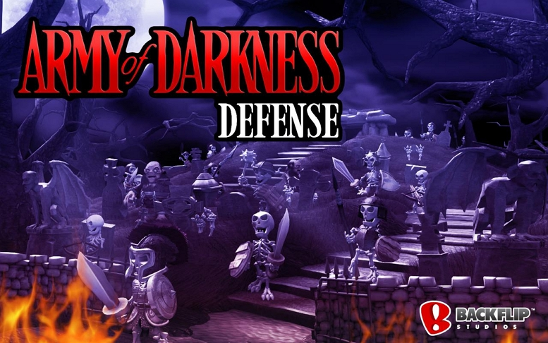 ARMY OF DARKNESS DEFENCE TITLE