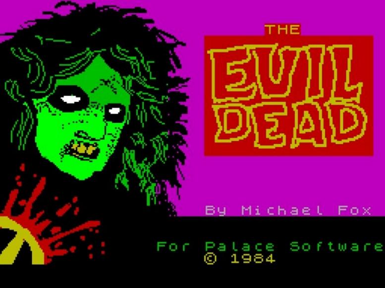 EVIL DEAD C64 TITLE