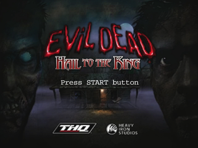 EVIL DEAD HAIL TO THE KING TITLE