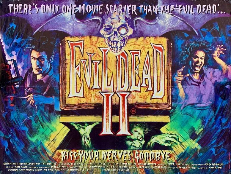 EVIL DEAD II TITLE